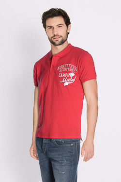 Polo CAMPS UNITED 51CP1PO102 Rouge