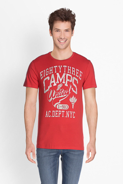 Tee-shirt CAMPS UNITED 51CP1TS111 Rouge