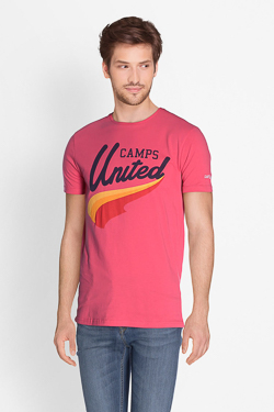 Tee-shirt CAMPS UNITED 51CP1TS117 Rose