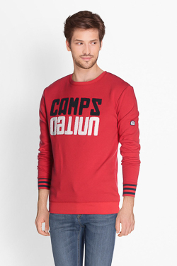 Sweat-shirt CAMPS UNITED 51CP1SW103 Rouge