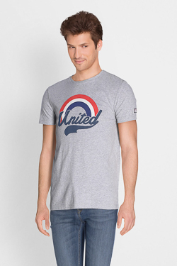 Tee-shirt CAMPS UNITED 51CP1TS106 Gris