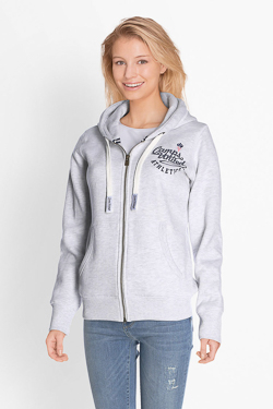 Sweat-shirt CAMPS UNITED 51CP2SW305 Gris clair