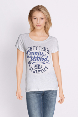 Tee-shirt CAMPS UNITED 51CP2TS308 Gris