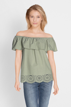 Blouse CAMPS UNITED 51CP2CS302 Vert