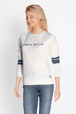 Sweat-shirt CAMPS UNITED 51CP2SW301 Blanc
