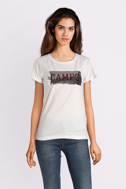 Tee-shirt CAMPS UNITED 52CP2TS303 Blanc