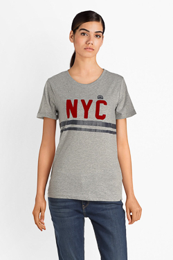 Tee-shirt CAMPS UNITED 52CP2TS300 Gris