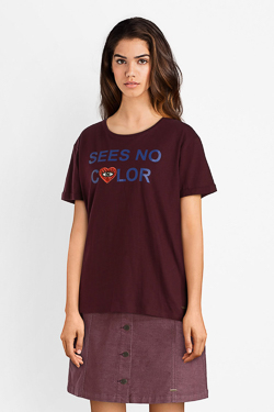Tee-shirt CAMPS UNITED 52CP2TS306 Violet
