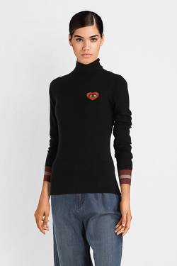 Pull CAMPS UNITED 52CP2PU300 Noir