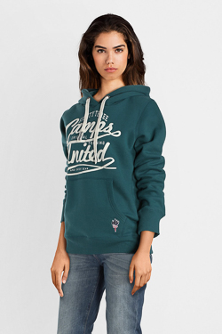 Sweat-shirt CAMPS UNITED 52CP2SW314 Bleu vert