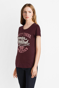 Tee-shirt CAMPS UNITED 52CP2TS308 Violet