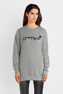 Sweat-shirt CAMPS UNITED 52CP2SW303 Gris