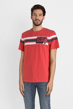 Tee-shirt CAMPS UNITED 52CP1TS108 Rouge