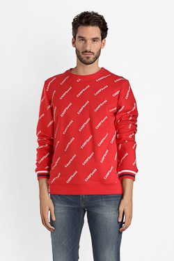 Sweat-shirt CAMPS UNITED 52CP1SW111 Rouge
