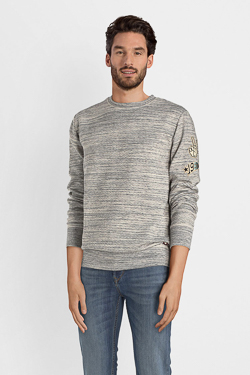 Sweat-shirt CAMPS UNITED 52CP1SW101 Gris