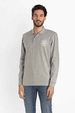 Polo CAMPS UNITED 52CP1PO100 Gris