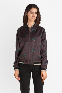 Blouson CAMPS UNITED 52CP2VE303 Rouge bordeaux