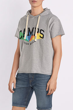 Sweat-shirt CAMPS UNITED 53CP1SW107 Gris