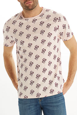 Tee-shirt CAMPS UNITED 53CP1TS106 Rose