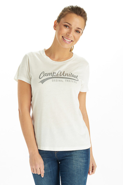 Tee-shirt CAMPS UNITED 53CP2TS314 Blanc