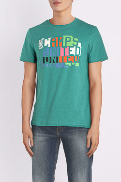 Tee-shirt CAMPS UNITED 54CP1TS101 Vert
