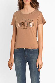 Tee-shirt CAMPS UNITED 54CP2TS320 Marron