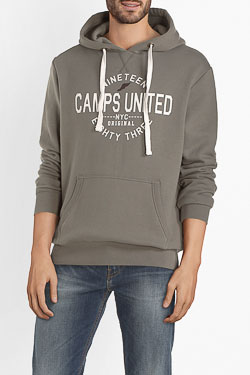 Sweat-shirt CAMPS UNITED 54CP1SW120 Vert