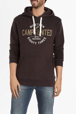 Sweat-shirt CAMPS UNITED 54CP1SW120 Marron
