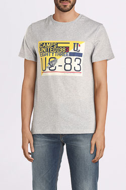 Tee-shirt CAMPS UNITED 55CP1TS103 Gris