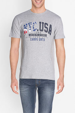 Tee-shirt CAMPS UNITED 50CP1TS356 Gris