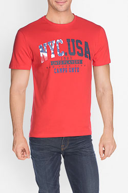 Tee-shirt CAMPS UNITED 50CP1TS356 Rouge