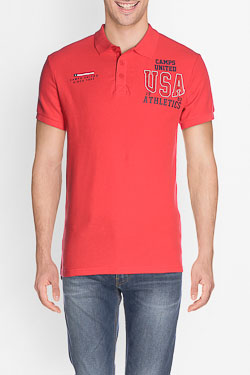 Polo CAMPS UNITED 50CP1PO394 Rouge