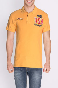 Polo CAMPS UNITED 50CP1PO394 Jaune