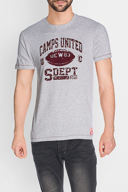 Tee-shirt CAMPS UNITED 50CP1TS069 Gris