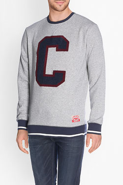 Sweat-shirt CAMPS UNITED 50CP1SW076 Gris