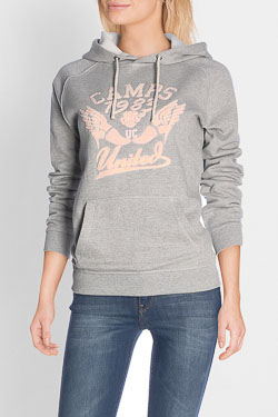 Sweat-shirt CAMPS UNITED 50CP2SW048 Gris clair