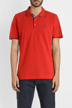 Polo CARDIN 52034T91325 Rouge