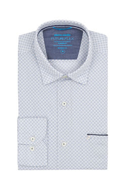 Chemise manches longues CARDIN 26922T5876 Blanc