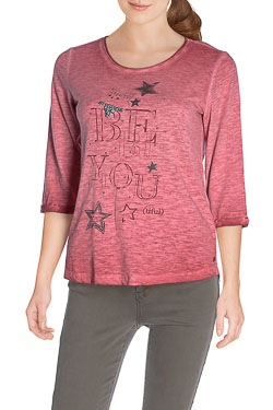 CECIL - Tee-shirt manches longues310598Rose