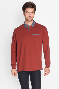 Polo CHARLES DE SEYNE 50CS1PO200 Rouge