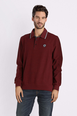 Polo CHARLES DE SEYNE 52CS1SW100 Rouge bordeaux