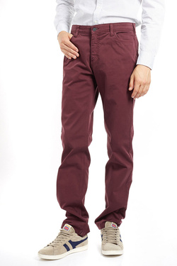 Pantalon CHARLES DE SEYNE 52CS1PS901 Rouge bordeaux