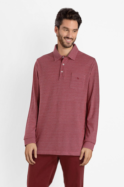 Polo CHARLES DE SEYNE 53CS1PO100 Rouge bordeaux