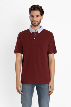 Polo CHARLES DE SEYNE 53CS1PO102 Rouge bordeaux