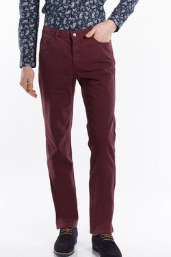 Pantalon CHARLES DE SEYNE 53CS1PS902 Rouge bordeaux