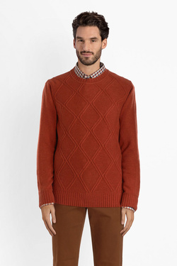 Pull CHARLES DE SEYNE 54CS1PU201 Orange