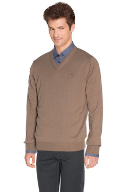 Pull CHARLES DE SEYNE 48CS1PU900 Marron clair