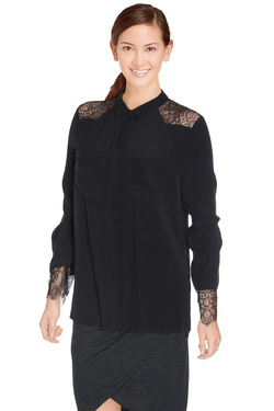 CHARLISE - Chemise manches longuesMYS800Noir