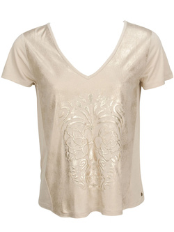 CHIPIE Tee-shirt taupe 8F10101