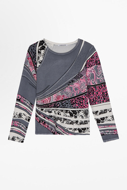 Pull CHRISTINE LAURE A0447 Gris